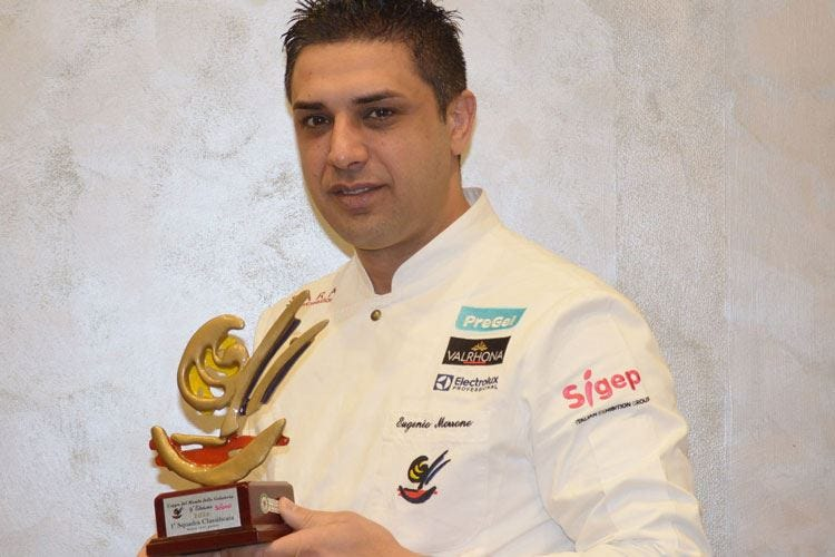 «Stagionale, di qualità e green» Il gelato secondo Eugenio Morrone