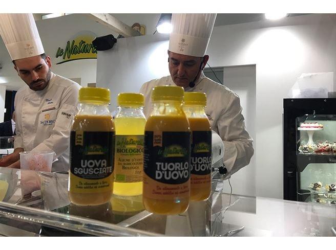 Eurovo a Cibus, uova in bottiglia  e preparati per dolci gluten free