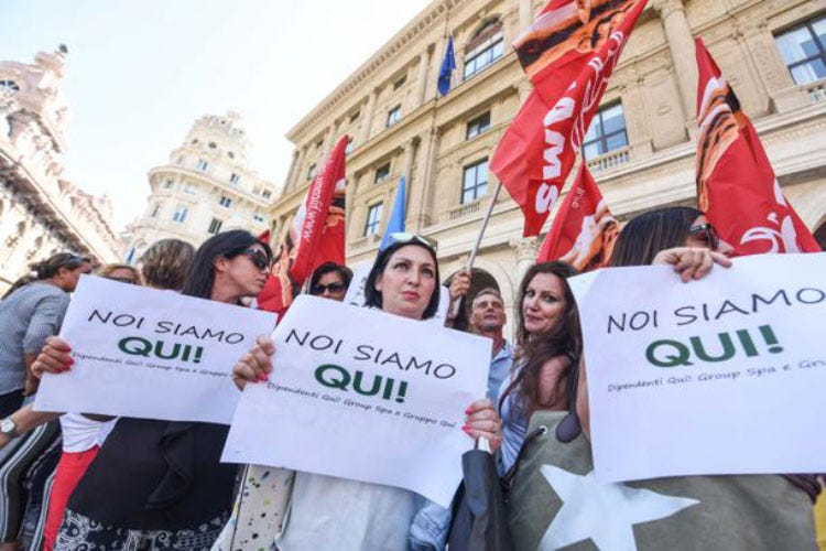 Fallimento QUI!Group, Fipe al Governo «Un fondo per le imprese creditrici» - Italia a Tavola