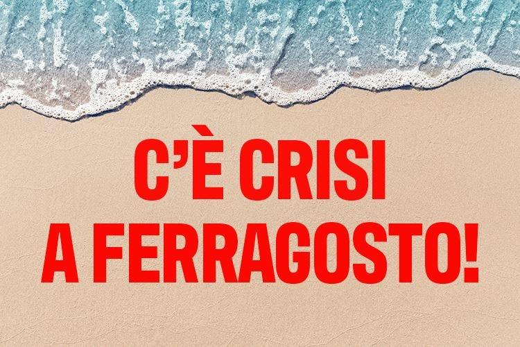 La settimana di Ferragosto non salverà il turismo dalla crisi