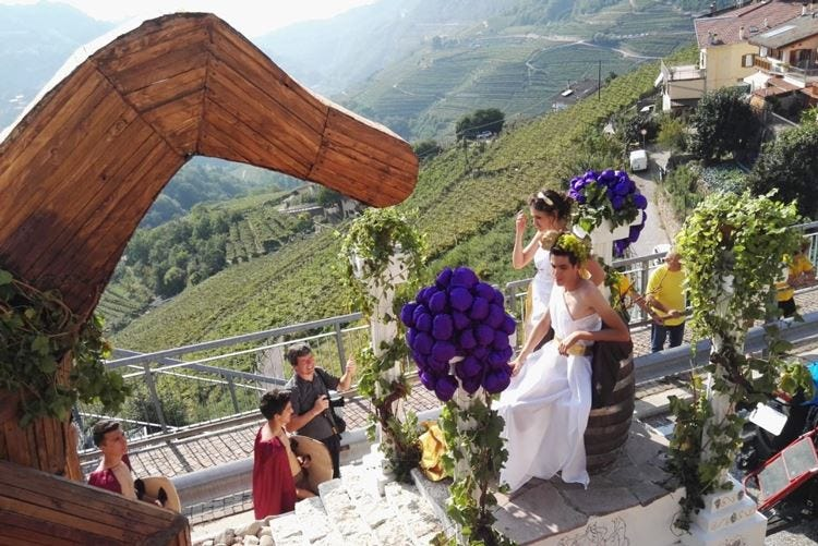 Festa dell'Uva in val di Cembra Una tradizione lunga 62 anni
