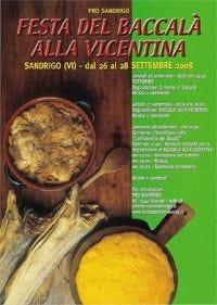 Festa del baccalà, la 3 giorni di Sandrigo organizzata dalla confraternita