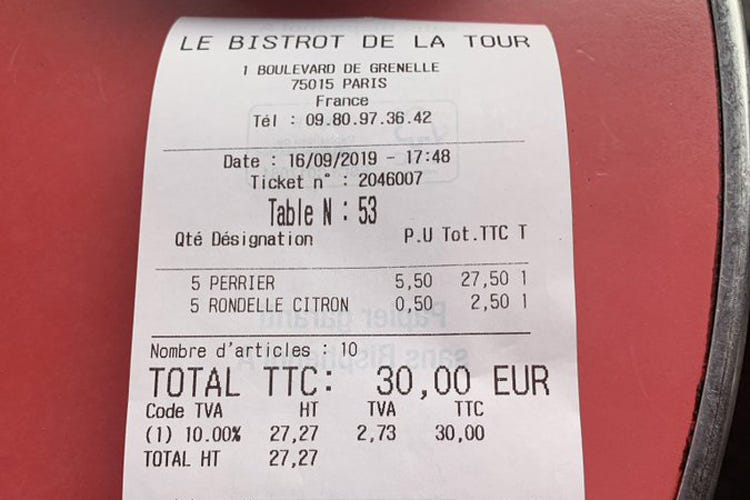Fetta di limone a 50 cent In Francia scoppia la polemica