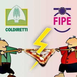 Sulla pizza è scontro aperto fra la Fipe e la Coldiretti