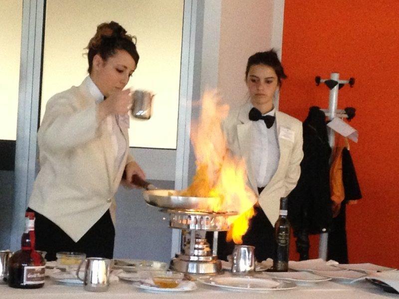 giovani maitres crescono san pellegrino vince al flambè - italia a ... - Cucina Flambè
