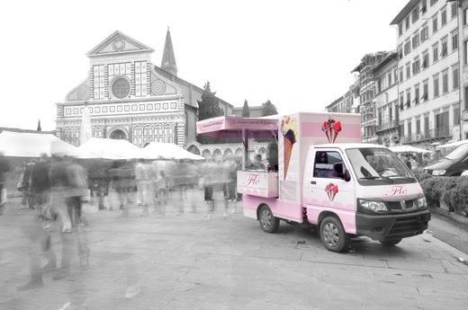 Flò, la gelateria da passeggioparte dal Firenze Gelato Festival