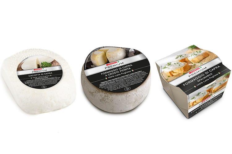 Dalla Puglia i formaggi di capra La leggerezza con Despar Premium