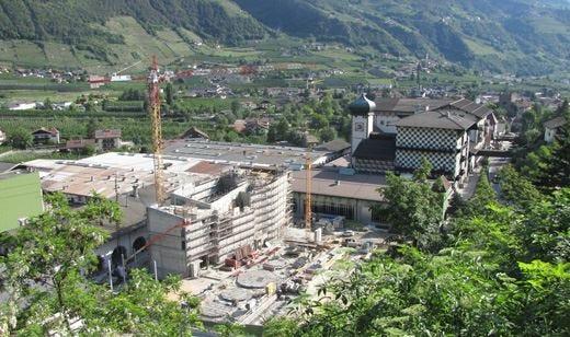 Birra Forst punta sulla tecnologia La costruzione della nuova sala cottura