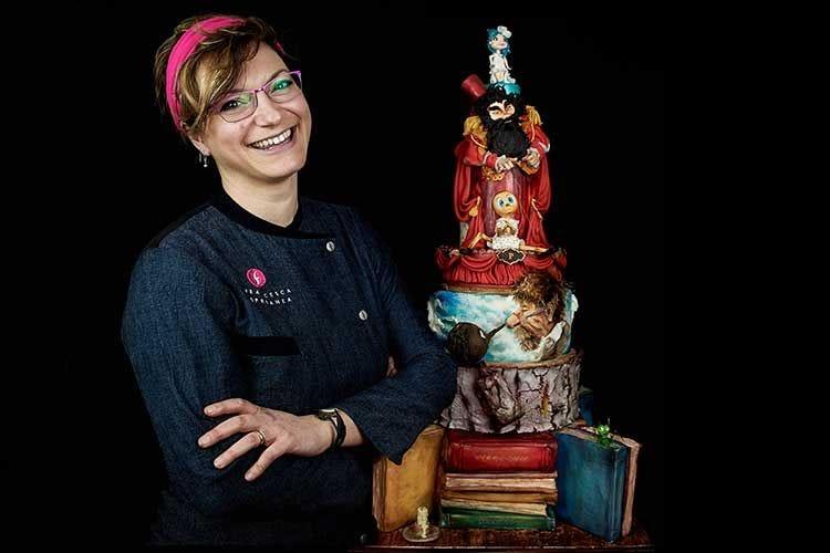 La sugar artist Francesca Speranza «Ci vuole estro e alchimia emozionale»