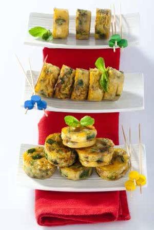 Frittata al forno con zucchine al profumo di menta - Italia a Tavola