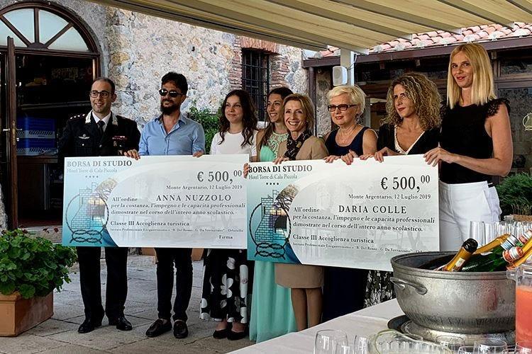I futuri operatori del turismo all'Hotel Torre di Cala Piccola