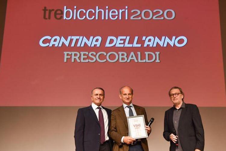 """Gambero Rosso, a Frescobaldi il titolo di """"Cantina dell'anno 2020"""""""