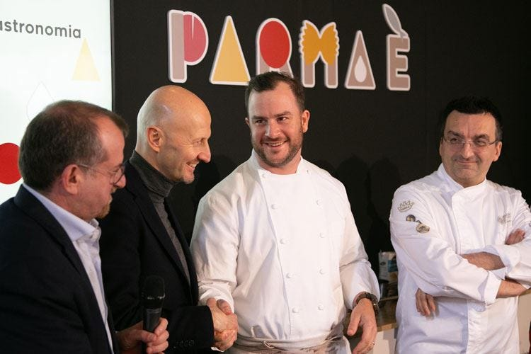 """""""Gastronomic Made in Italy"""" Vince l'americano Sypsteyn"""