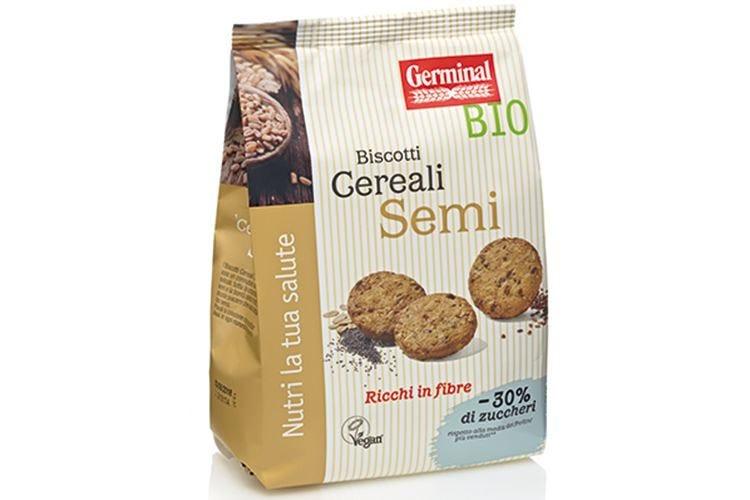 Meno zucchero, più gusto nei biscotti Germinal Bio