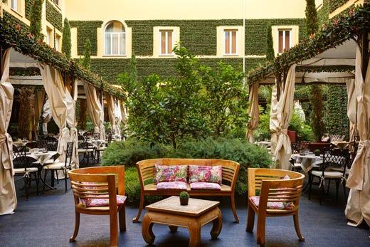 Apre a roma il giardino di ripetta con la cucina di - Ristoranti con giardino roma ...