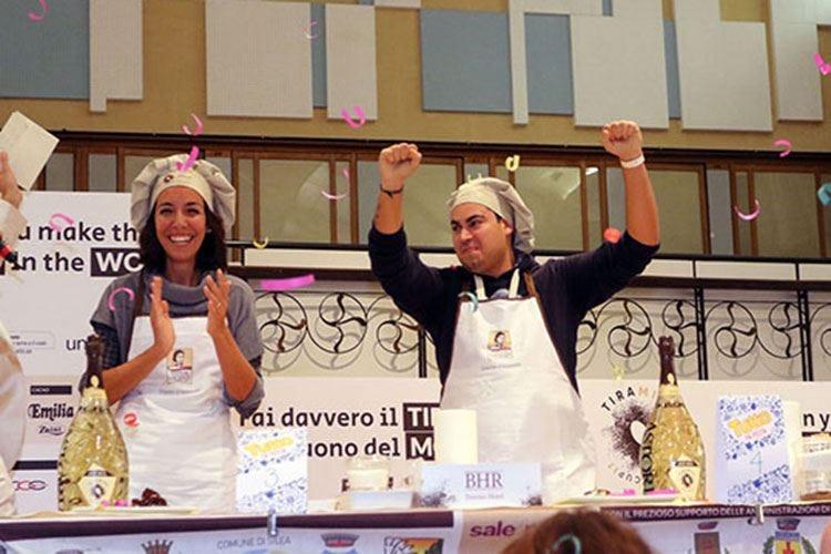 Il giovane Andrea Ciccolella vince la Coppa del mondo di Tiramisù