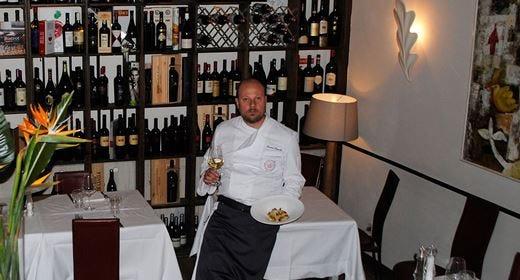 """Il rum è servito... a """"Le Tamerici"""" Giovanni Cappelli cucina con lo Zacapa"""