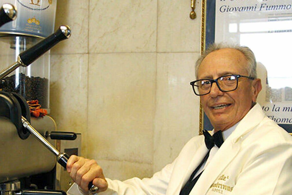 Giovanni Fummo. Fonte: NapoliToday Lutto nel mondo del caffè: morto Giovanni Fummo del Gambrinus di Napoli