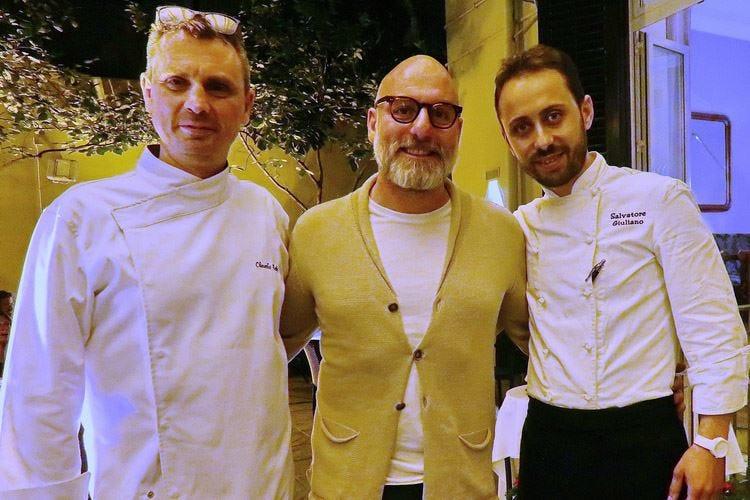 Giuliano e Ruta, in cucina a 4 mani all'Acanto di Palermo