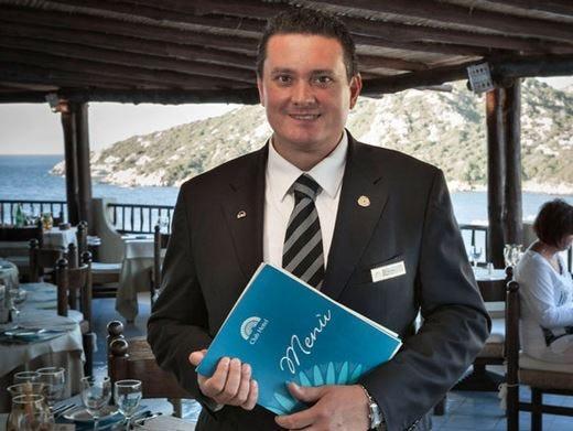 Bonora dell'Hotel Cristallo di Cortina è il Maitre d'Italia Amira dell'anno