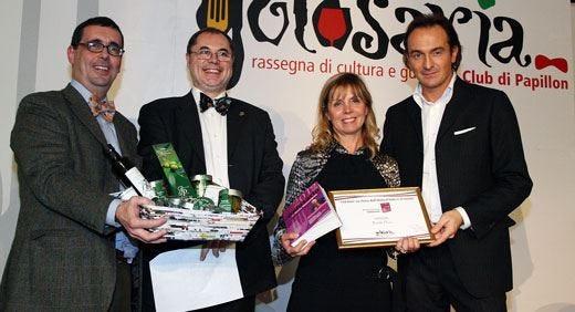 Le eccellenze italiane del Golosario Premiato l'olio sardo dei Pinna