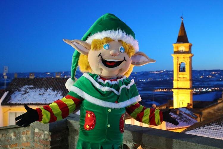 """Govone, """"Magico paese di Natale""""tra le colline del Roero"""