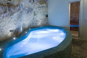 Superbo Grana Barocco art hotel & spa Centro benessere scavato nella roccia - Italia a Tavola