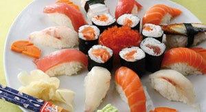 Sushi a rischio contaminazione prima lo si congela poi si - Si mette in tavola si taglia ma non si mangia ...