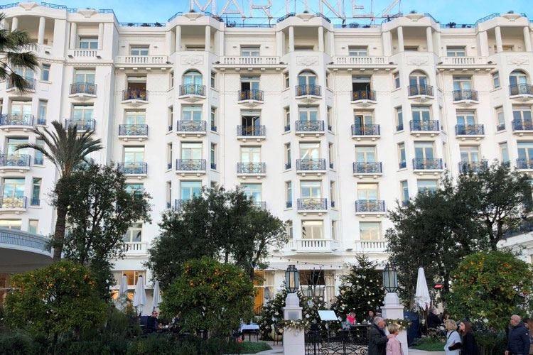Dopo il restauro si rinnova il lusso dell'Hotel Martinez a Cannes