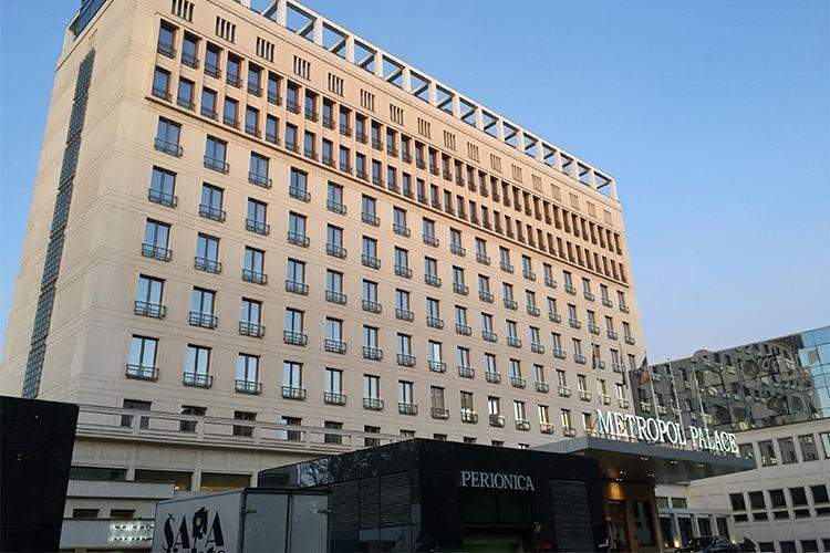 Dall'Hotel Metropol Palace una splendida vista su Belgrado