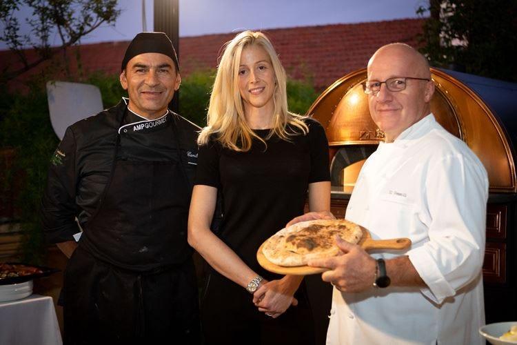 Omaggio alla pizza d'autore Ottobre gourmet all'Hotel Plaza