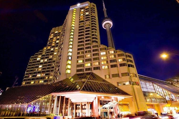 Intercontinental Toronto Centre 25 piani di lusso con vista sull'Ontario