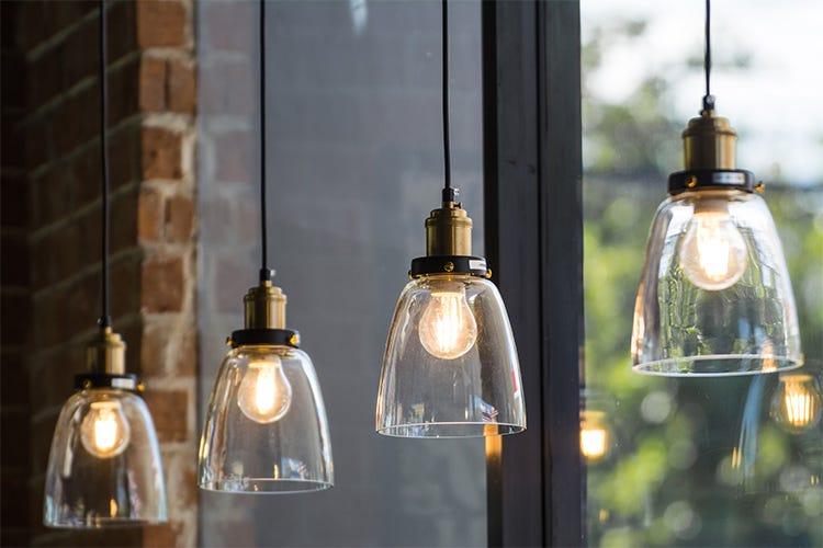 La giusta illuminazione al ristorante valorizza il lavoro del