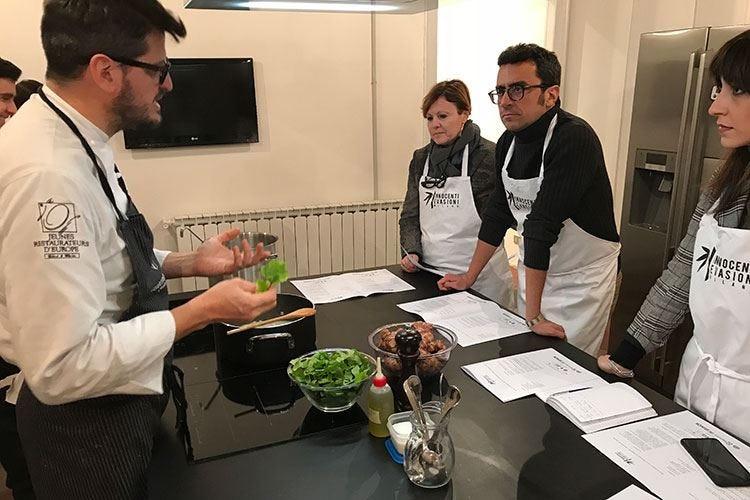 Innocenti Evasioni Gourmet Factory La scuola di cucina di Tommaso Arrigoni