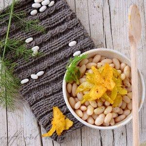 Insalatina tiepida di fagioli e finocchi