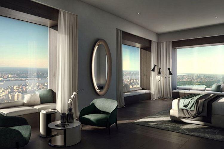 Gli interni di Matteo Nunziati in un lussuoso edificio di New York