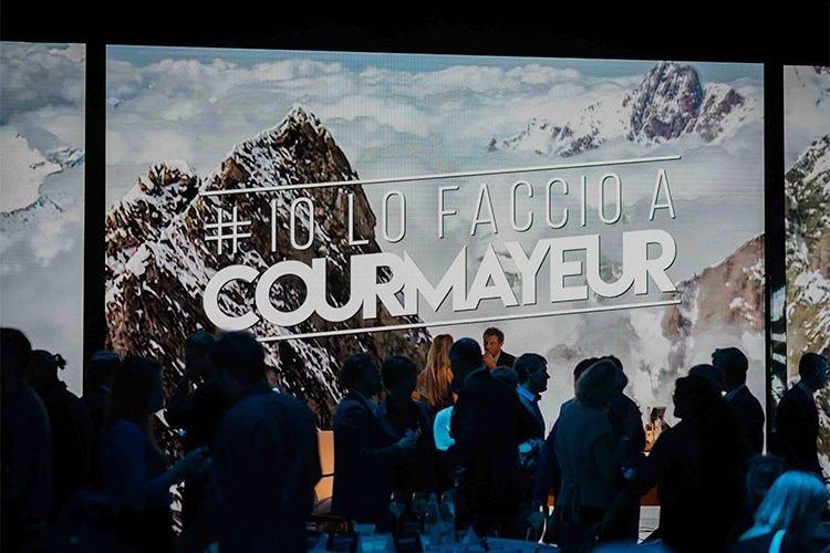 #iolofaccioaCourmayeur, nuovo progetto per rilanciare la località di montagna
