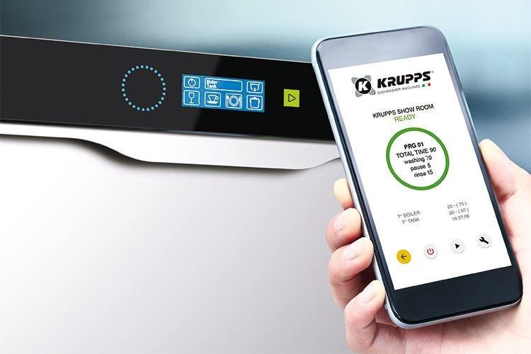 La tecnologia wi-fi di Krupps protagonista del lavaggio professionale