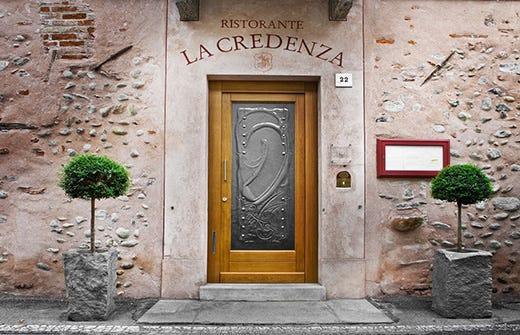Credenza Per Ristorante : Vincenzo reda ristorante la credenza di san maurizio canavese