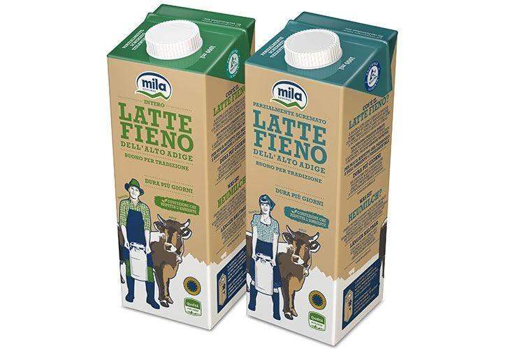 Mila propone Latte Fieno L'Stg 100% altoatesina