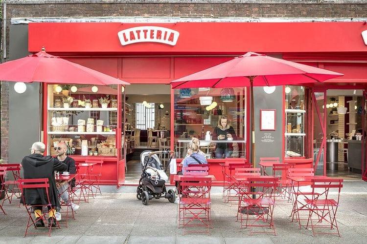 Le vecchie latterie milanesi rivivono in un caffè di Londra