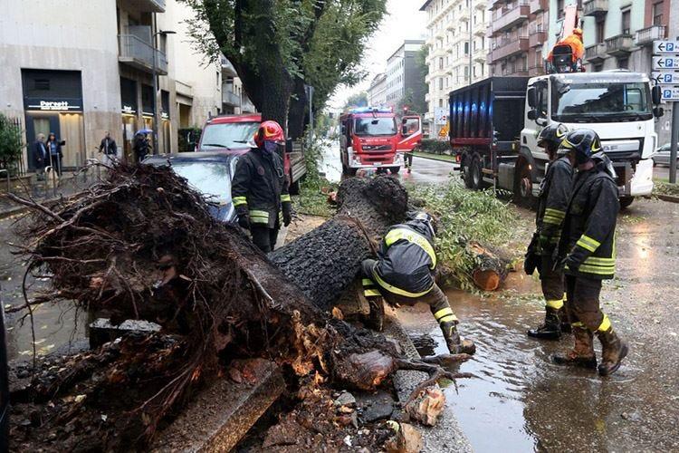 Lombardia, i danni del maltempo valgono 300 milioni di euro
