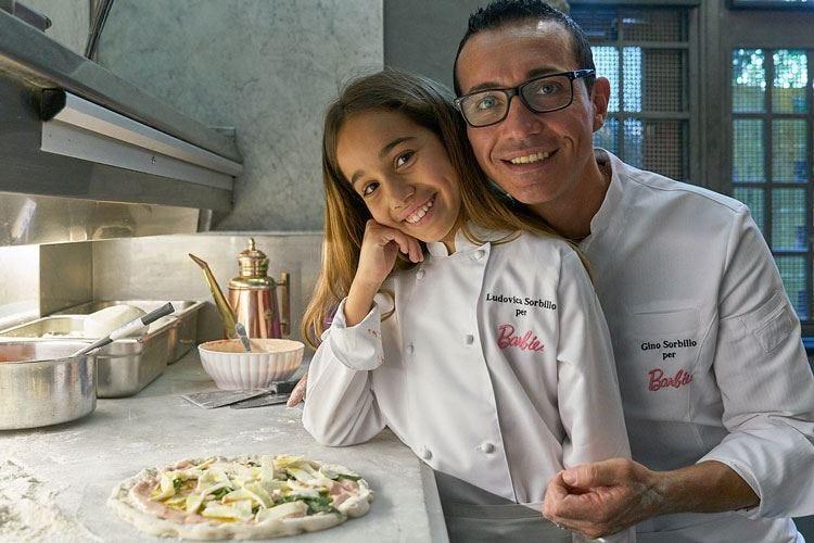 Ludovica Sorbillo ispira papà Gino  Nel menu arriva la pizza Barbie