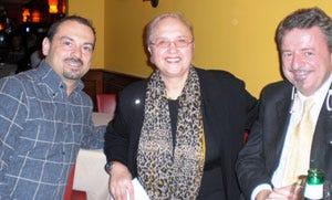 Paolo Monti, Lidia Bastianich e Alberto Lupini