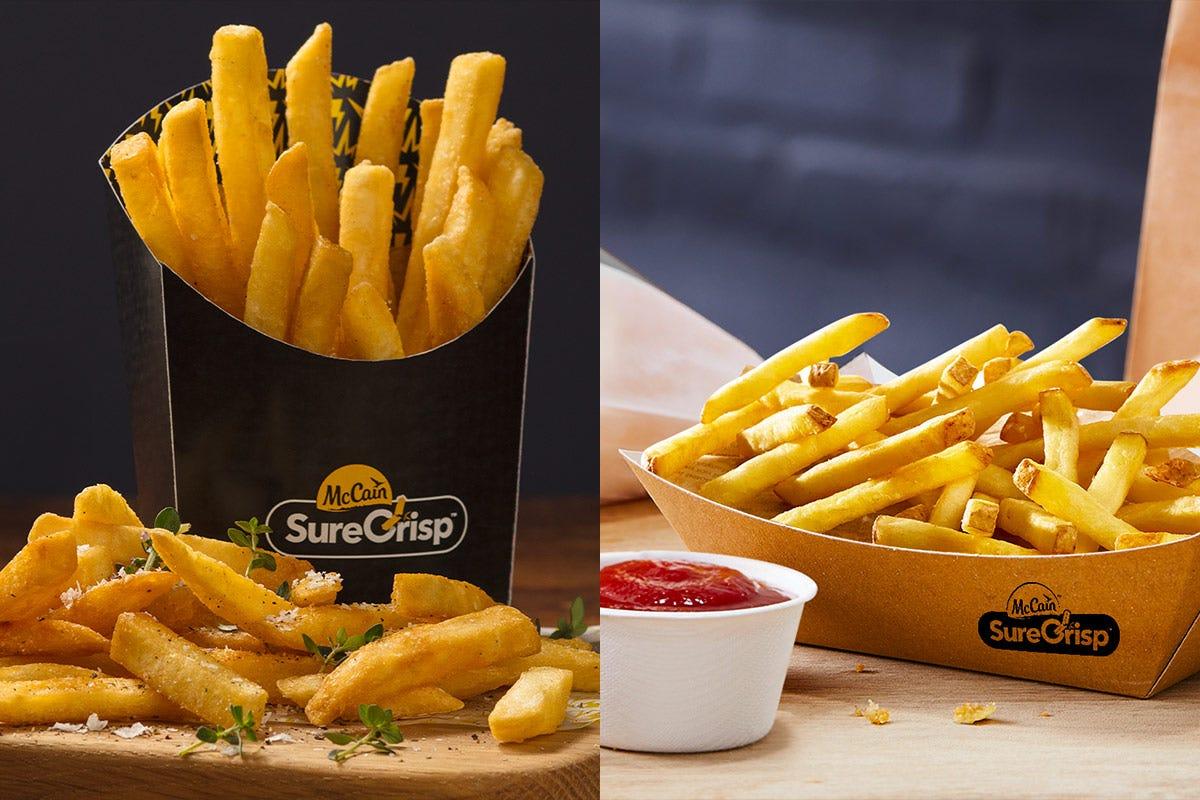SureCrisp, patatine extracroccanti pensate per take away e delivery