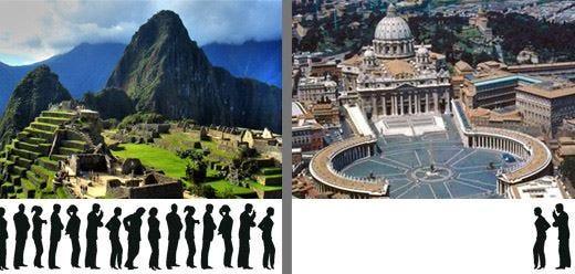 Basta con le classifiche di TripAdvisor! Machu Picchu meglio di San Pietro?