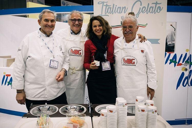 I maestri della Mig al Wtm London raccontano il gelato made in Italy