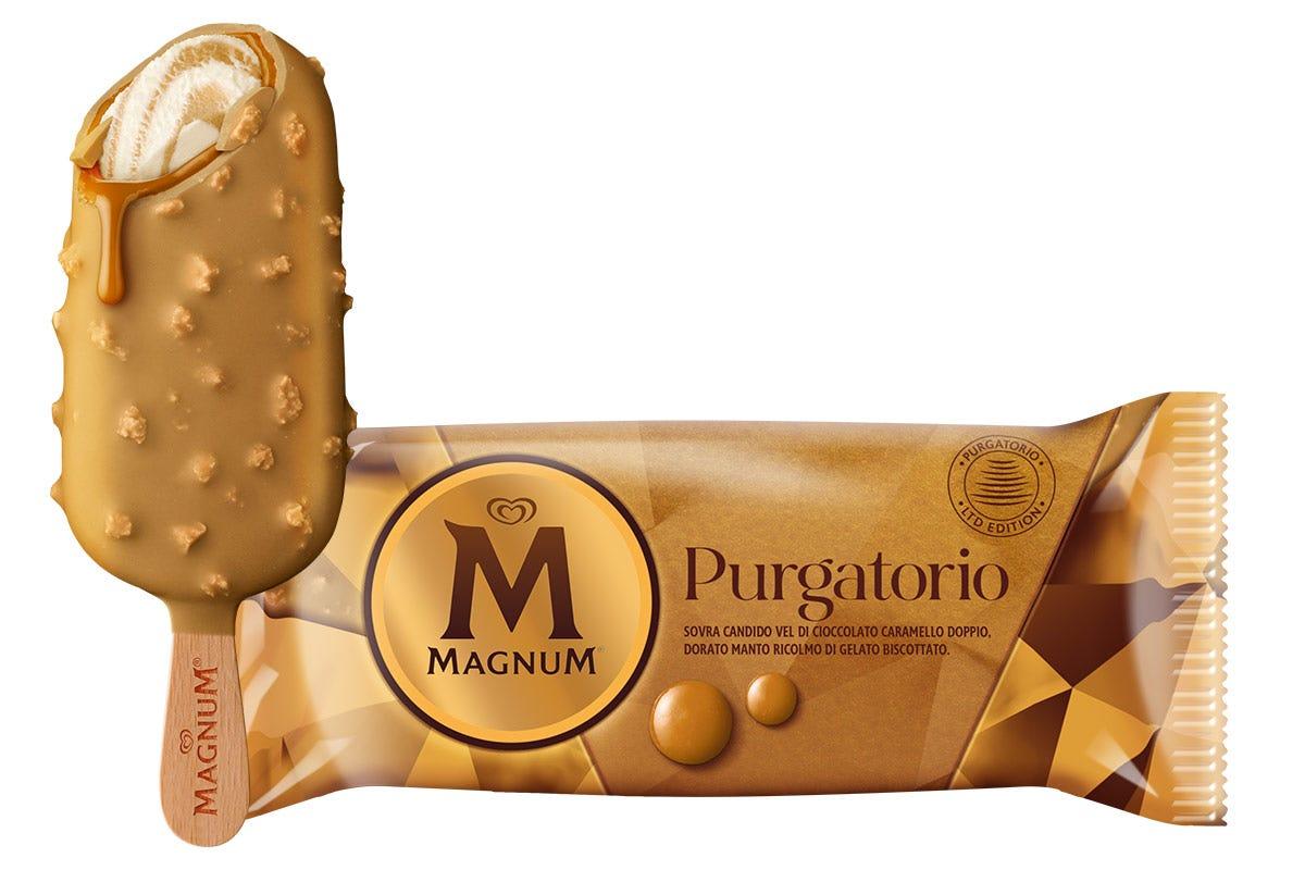 Il nuovo Magnum Purgatorio Stecco e cono farciti di fantasia La nuova dimensione del gelato