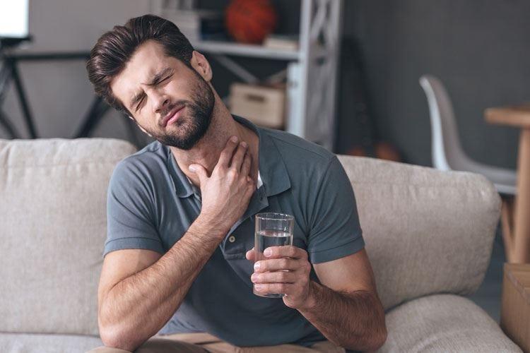 Mal di gola, attenti ai virus Meglio evitare i luoghi troppo caldi