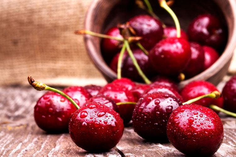 Il maltempo ha dimezzato il raccolto di ciliegie in Italia